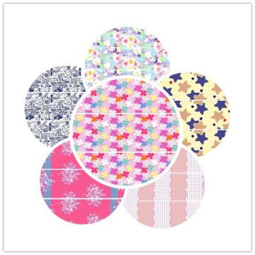 100% печатных хлопчатобумажной ткани для домашнего текстиля с хорошим качеством