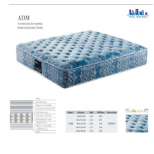 Comfortable Euro Pillow Top Pocket Spring Mattress