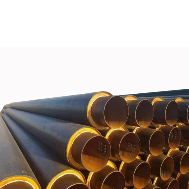 Hdpe Jacket Steam Insulation Steel Pipe