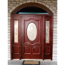 Mogno maciço Exterior / porta de entrada 40010