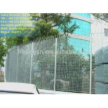 Оцинкованная стальная ограда, оцинкованная стальная решетка, решетка из оцинкованной стали