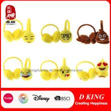 Orejeras ajustables de la orejera de Emoji
