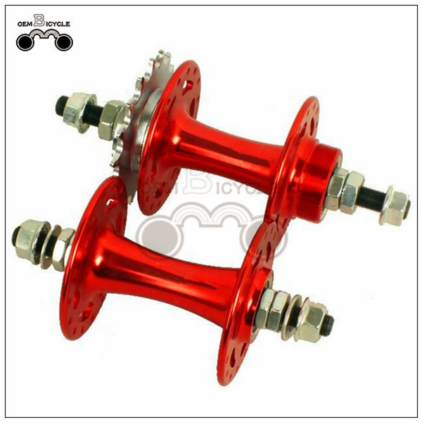 fixed gear bike aluminum alloy color hub5