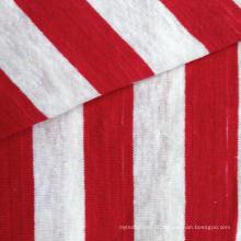 Hemp / Fios de algodão tingidos Jersey Stripe