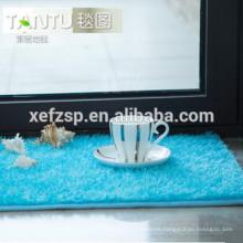 modern kitchen designs waterproof bath long hair rug long pile 100% polyester machine washable entrance mat