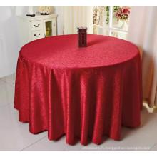 nappe ronde de mariage 100% polyester prix bas