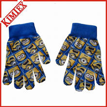 2016 Hot Sales Nice Knitted Magic Glove with Sublimation Printing