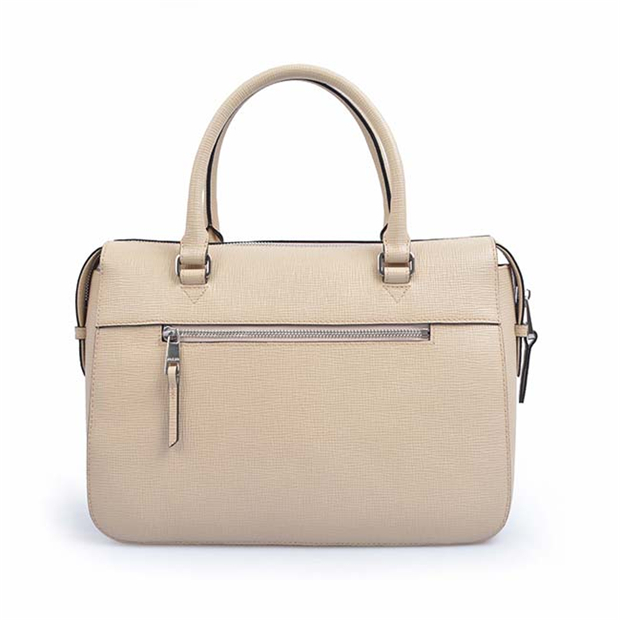 Hand Bag with Shoulder Strap Genuine Leather Handbag for Business Women