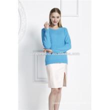 Moderner, moderner Pullover für Frauen