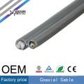 SIPU haute vitesse RG59 + 2c puissance coaxiale gros rg59 vidéo câble d'alimentation meilleur prix CCTV câble