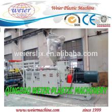 máquina extrusora de plástico PE PVC tubos de fabricação