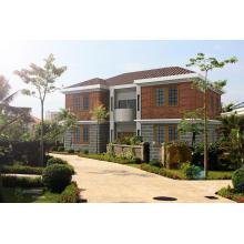 Vorgefertigte leichte Stahlkonstruktion modulare Haus Villa