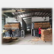 8 Heating Section Continuous Wood Veneer Dryer Machine for Plywood