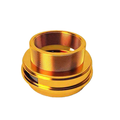 Production Fabrication Spare CNC Copper Parts