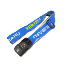 Personalized Luggage Strap With 3-Dial Combination TSA Lock