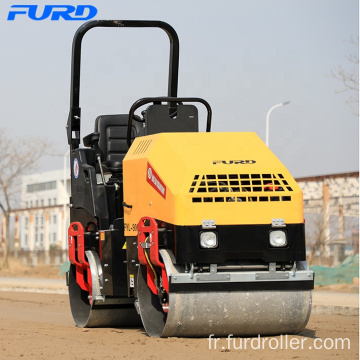 2000kg Static Tandem Road Rollers with Double Drum