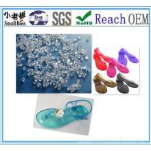Grânulos de PVC para calçados