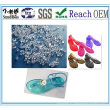 ПВХ гранулы для обуви