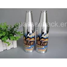 Botella de cerveza de aluminio 350ml para envasado de bebidas (PPC-ABB-03)