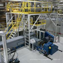PP Spunbond Meltblown Making Machine