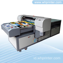 Resolusi tinggi optik Frame Flatbed Printer