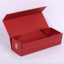 Пользовательский размер и логотип Складная Коробка подарка картона с магнитной крышкой