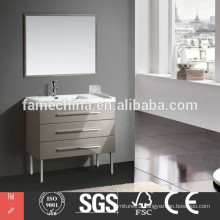 2014 Hangzhou MDF Bathroom Furniture Set