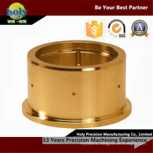 CNC Brass Parts Manufacturing Nickel Plated Finish Brass Machining Part