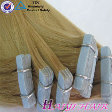 Large Stock Top Qualität Jungfrau-Haar-Band doppelt gezeichnet Mini-Band Haarverlängerung