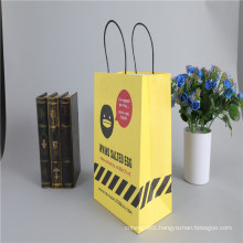Kraft Bag with Colorful Print Factory Paper Bag for Promotion