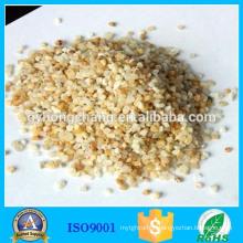 Hardness large corrosion resistance quartz sand