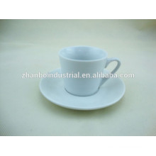 Классический фарфоровый кофе-чашка с блюдцем