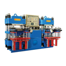 High-Precision Double-Pump Full-Automatic Front-Style 3rt Hydraulic Molding Machine for Industrial Rubber Parts Products (KSH-100T)