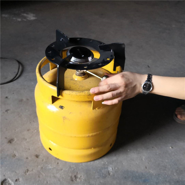 china manufacturer customized 6kg 10kg metal cylinder seater for stove