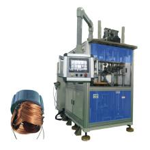 Máquina de inserção do enrolamento da bobina do estator da estação de trabalho do motor três do gerador