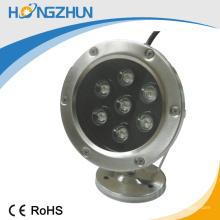El mejor precio para la luz subacuática llevada 12v / 24v RGB color CE y la certificación de ROHS