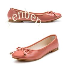Sapatos de balé casuais de moda nova chegada quente da mulher