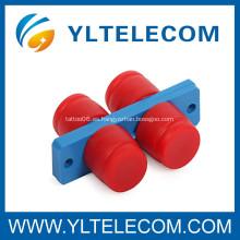 FC dúplex de fibra óptica adaptador con PC / UPC / APC interfaz estructura telecomunicaciones