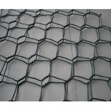 Acoplamiento de alambre hexagonal del PVC / alambre de alambre del pollo