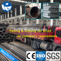 High quality carbon black steel pipe in stock
