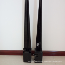 concrete pole anchor adjustable steel support post