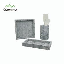 Natürlicher Marmor-Serviertablett von Shijiazhuang Kingway