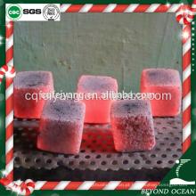 2017 carvão shisha forma Quadrada de coco para narguilé / incenso