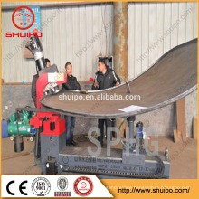 dish end press machine fuel tank end flanging machine for sale oval shape fuel tank end flanging machine for sale