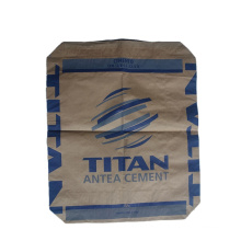 High Quality Breathable Heavy Capacity 25kg 50kg Recyclable Feature Brown Kraft Paper Bags For Cement