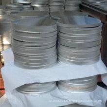 1050 1100 3003 Cercle de feuille en aluminium pour les ustensiles de cuisine de haute qualité