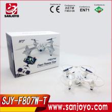 F807 беспроводной доступ в Интернет с fpv мультикоптер радиоуправляемый Дрон vs gryo конечно H107D с fpv HD камера в режиме реального времени передачи fpv Безголовый модели самолетов