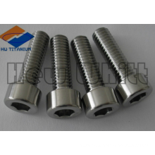 high strength Gr5 titanium socket head bolt M10