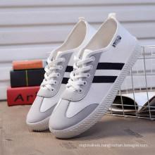 Classical Hotsale White Canvas Shoes/ Wholesale Ladies Shoes/Women Platforms Shoes
