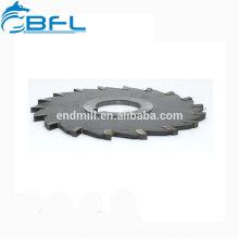 Herramienta de corte CNC de carburo de tungsteno BFL Hoja de sierra de carburo Fresa de corte / Hoja de sierra de carburo Fresa